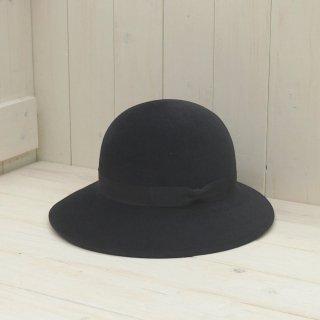 【石田製帽謹製】スーパーベロアフェルト 丸ダウンクロッシェ