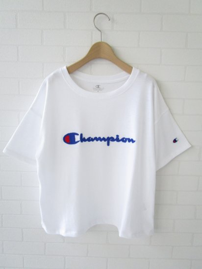 Champion - パイルワッペンTシャツ
