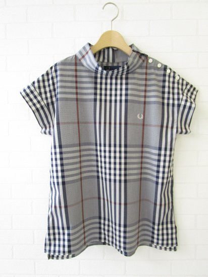 FRED PERRY - ロールネックシャツ