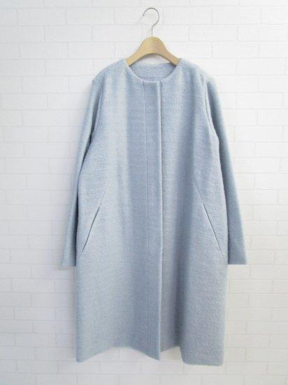 Crespi - モヘアニット ロングコート
