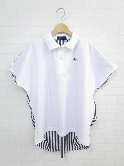 FRED PERRY - バックストライプ ピケ シャツ