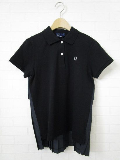 FRED PERRY - バックプリーツ ポロシャツ