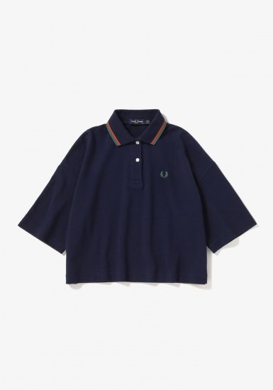 FRED PERRY - クロップド丈ポロシャツ