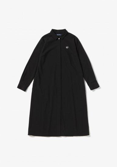FRED PERRY - プリーツバックシャツドレス