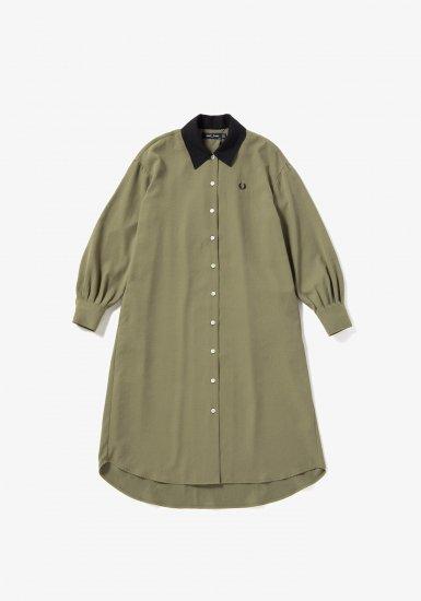 FRED PERRY - ウーブンシャツドレス