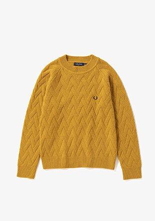 FRED PERRY - スリットバックセーター