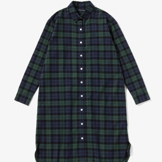 FRED PERRY - タータンシャツドレス