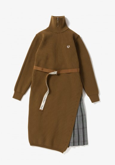 FRED PERRY - ニットドレス