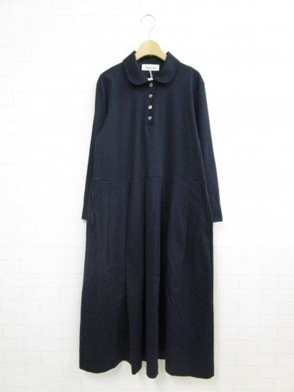 SARAHWEAR - コットンスムース丸衿ドレス