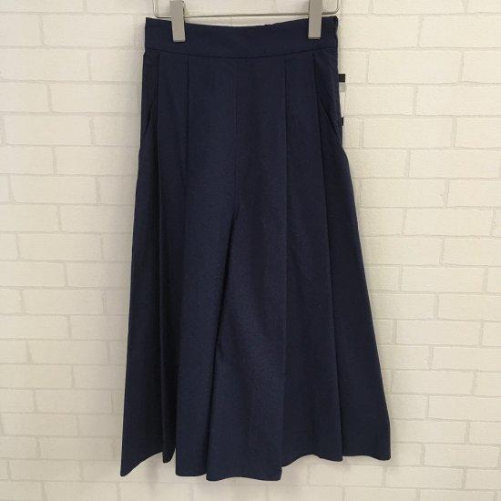 BLUE DE BRESSE - ウォッシャブル タックワイドパンツ