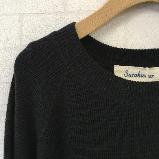 SARAHWEAR - ワッフルジャージーラグランTシャツ