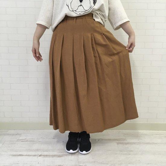 Le minor - 麻ギャザースカート