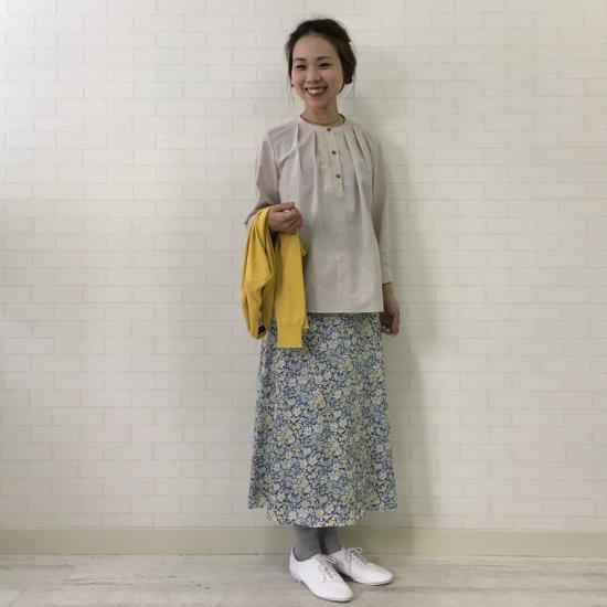SARAHWEAR - ベルト付セミフレアスカート(リバティコレクション)
