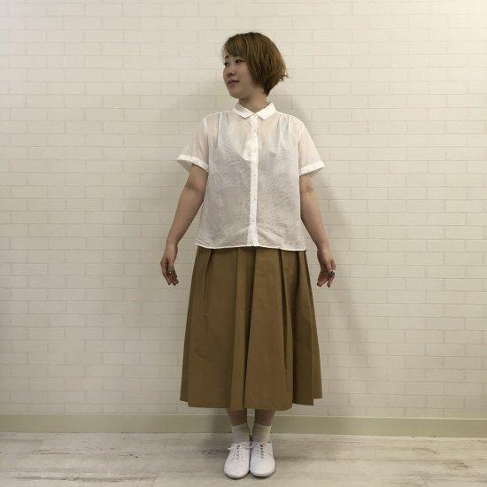 J.sloane - コーマローンナチュラルワッシャーチビ襟シャツ