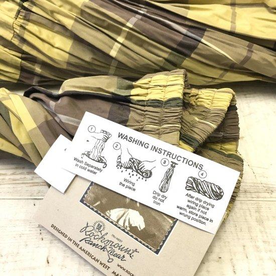 Rockmount - コットンティアードスカート(yellow/brown)
