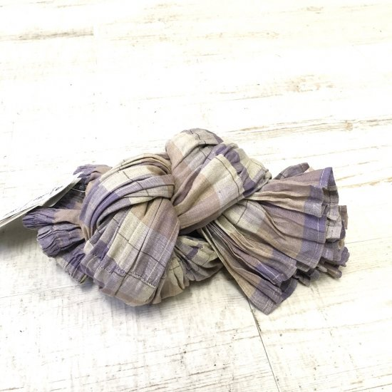 Rockmount - リネンティアードスカート(beige/purple)