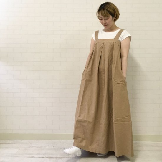 Vincent et Mireille - タック ジャンパー スカート VM201LD29032