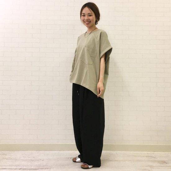 Sheth - ポケット付 半袖BIG Tシャツ