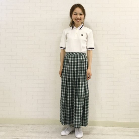 FRED PERRY - RIBBED SHIRT リブポロシャツ(F5366)