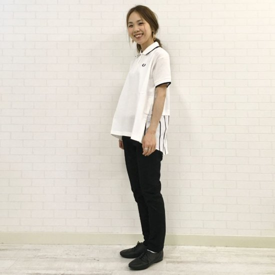 FRED PERRY - PANELLED POLO SHIRT パネルポロシャツ(F5371)