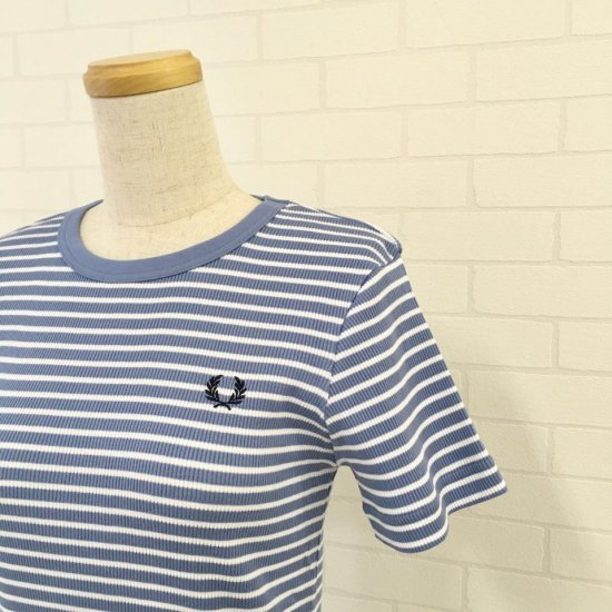 FRED PERRY - STRIPED T-SHIRT ボーダーTシャツ(F5379)