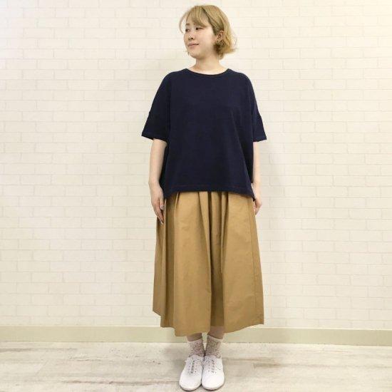 Vincent et Mireille - コットンスラブ ワイド Tシャツ