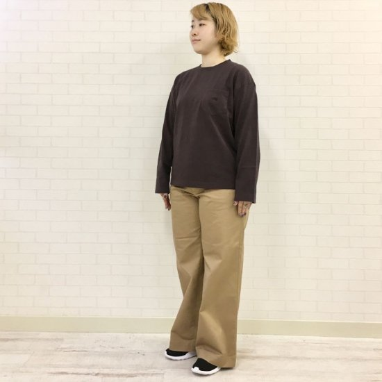THE NORTH FACE PURPLE LABEL - 7oz L/S Pocket Tee ロングスリーブポケットティー (NT3058N) 正規取扱品