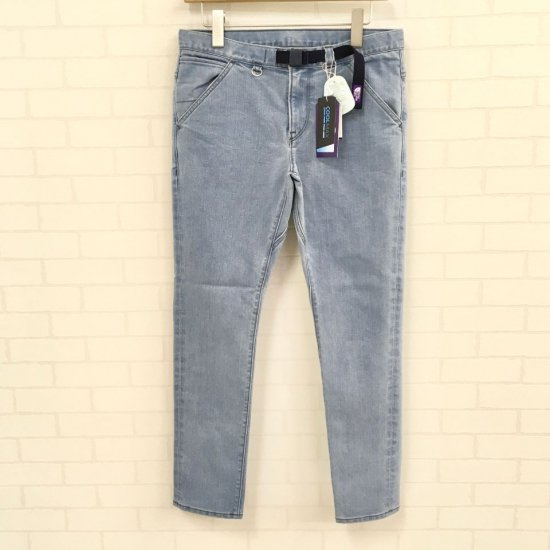 THE NORTH FACE PURPLE LABEL - Webbing Belt Denim Pants ウェビングベルトパンツ  (NT5050N) 正規取扱品