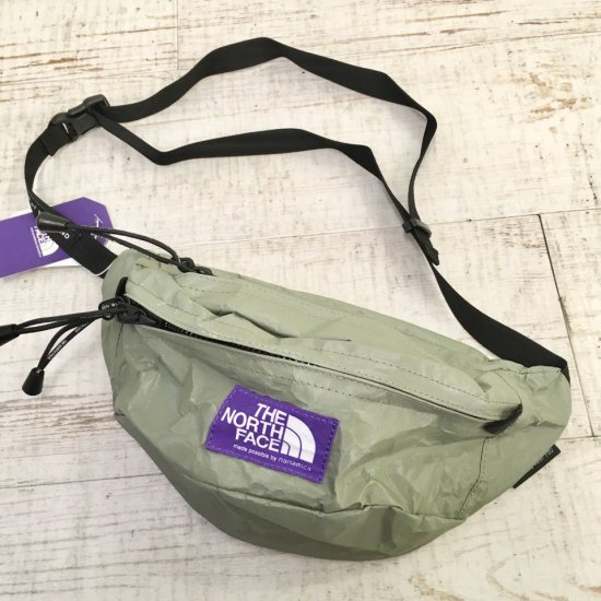 THE NORTH FACE PURPLE LABEL - Tech Paper Waist Bag(NN7050N) 正規取扱品
