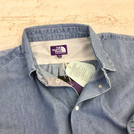 THE NORTH FACE PURPLE LABEL - Light Denim Shirt (NTW3068N) 正規取扱品