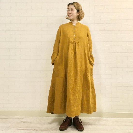 SARAHWEAR - Tomoyo Linen Viyella ドレス(C71086)
