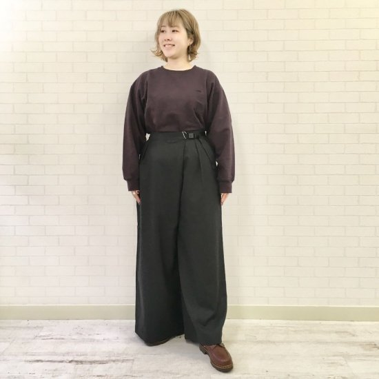 THE NORTH FACE PURPLE LABEL - Combat Wool Plaid Wide Pants(NTW5062N) 正取扱商品