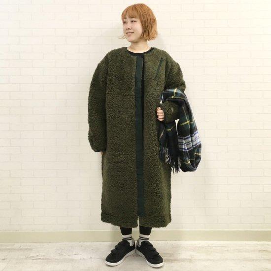 THE NORTH FACE PURPLE LABEL - Wool Boa Fleece Long Coat  ウールボアフリースロングコート(NAW2050N)正規取扱店