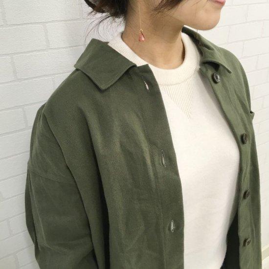 Parkes - クラッシックドリル起毛のCPOシャツ
