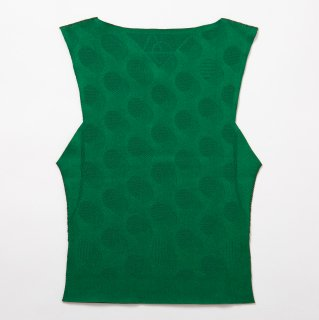 seamless short tops_green