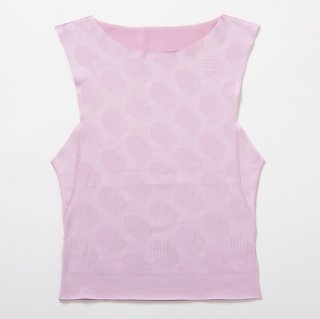 【86%OFF】seamless short tops_pink