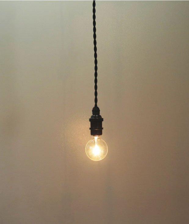 吊りランプ用パーツ(ブロンズ仕上げ)