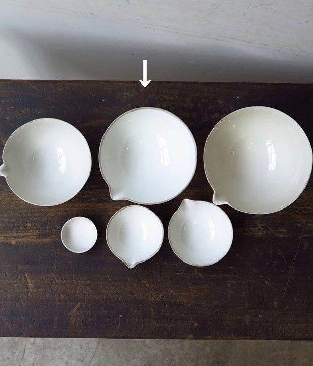 aluminite frugier  磁器のボウル[LY]