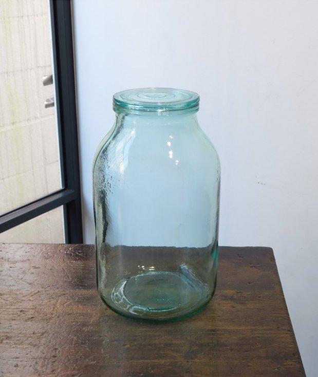 アンティーク 蓋付きボトル[LY]