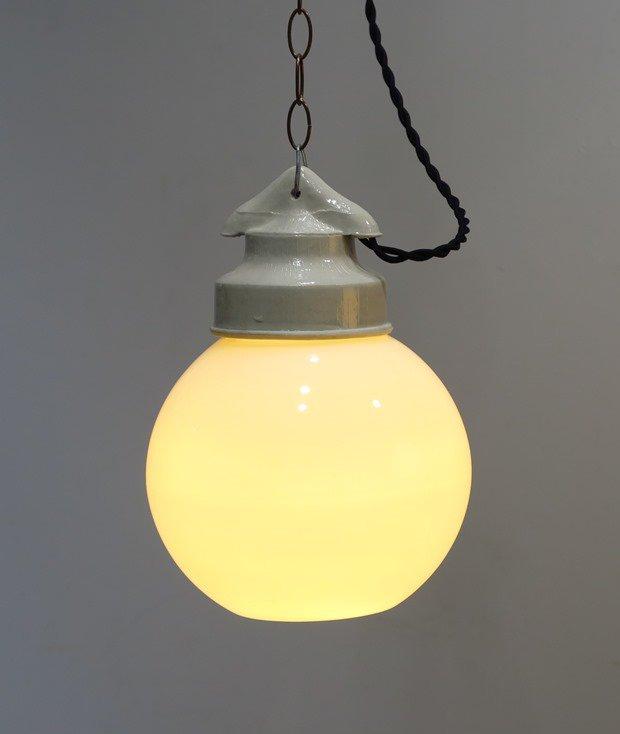 ガラス ボールランプ[LY]