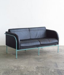 2P leather Sofa[LY]