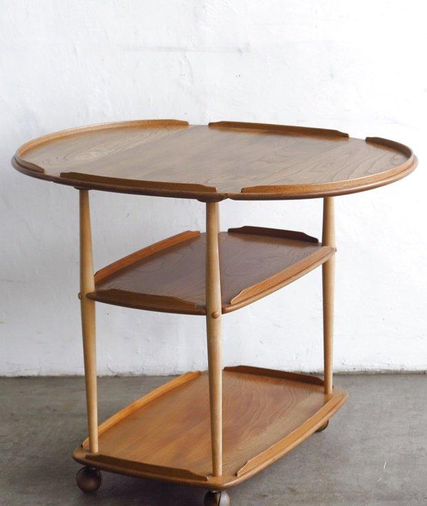 ERCOL ワゴンテーブル[LY]