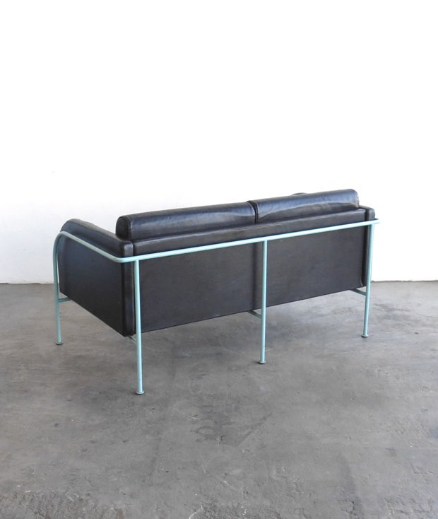 2P leather Sofa[DY]