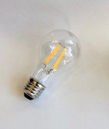 E26 LEDフィラメント電球 電球色 60W相当