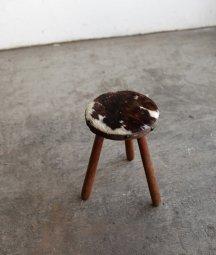 cow hide stool[AY]