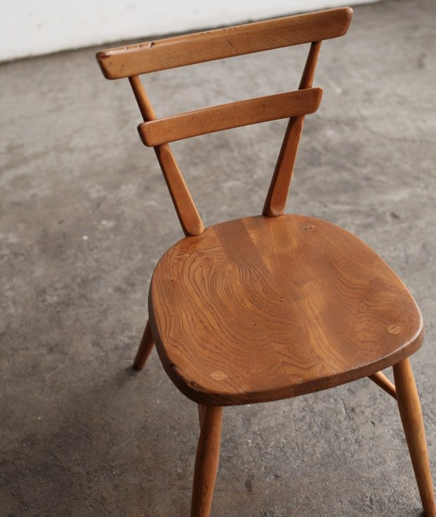Double back chair / Blue dot[LY]