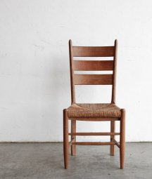 solid oak chair