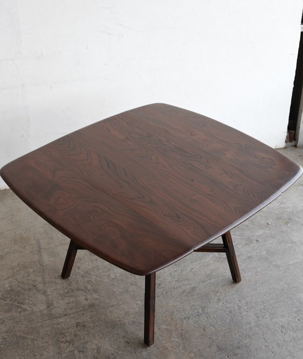 ERCOL dropleaf table(old colonial)[AY]