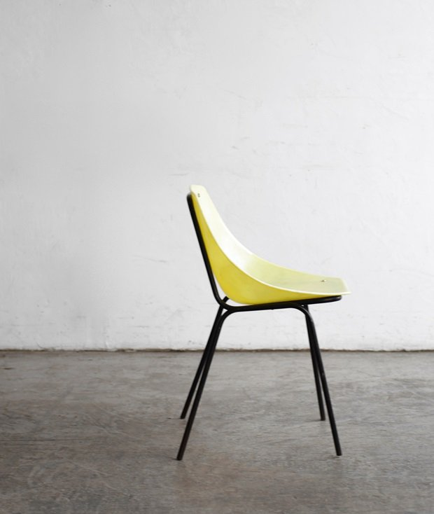 shell chair / Pierre Guariche[LY]