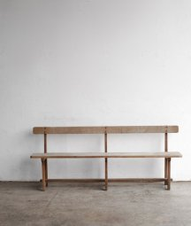 solid oak bench[LY]